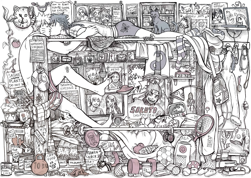 Print - Roommates
