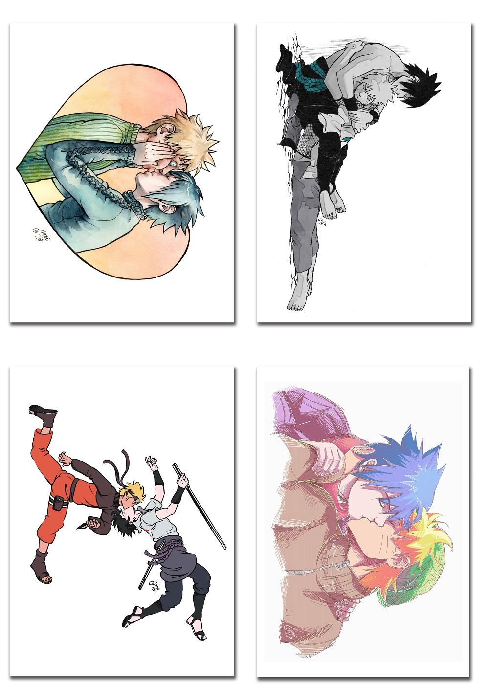 SasuNaru Card Set 1