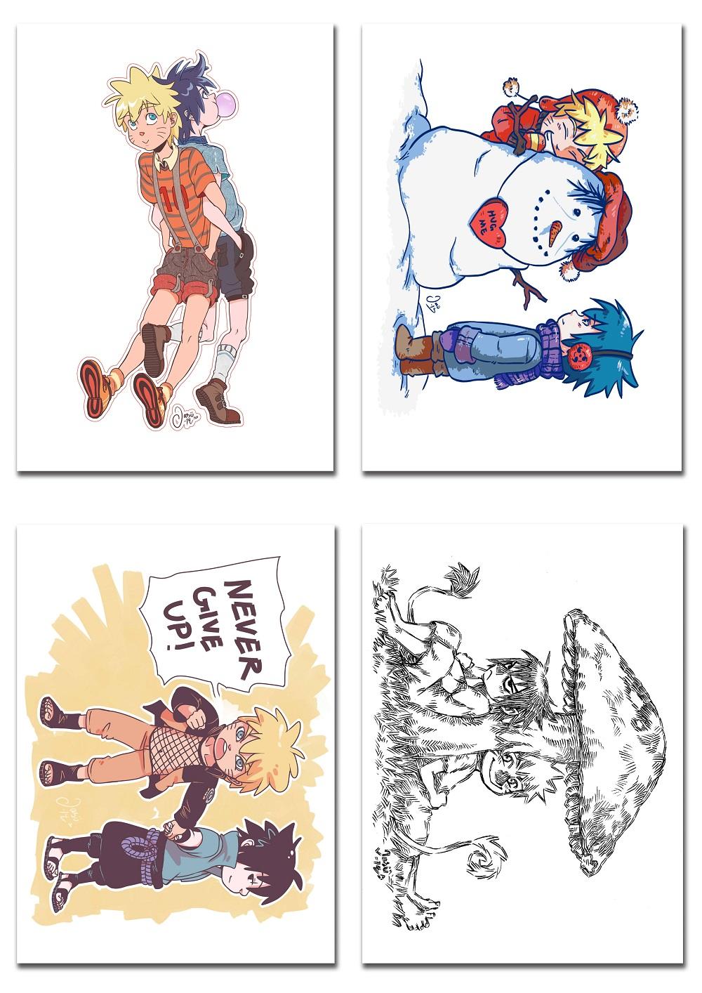 SasuNaru Card Set 2